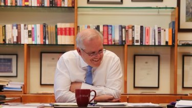 """Prime Minister Scott Morrison: """"There are no greater friends and no greater allies than Australia and the US."""""""