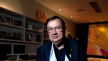 Former Tennis Australia director Harold Mitchell.