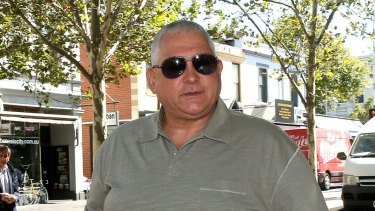 Underworld figure Mick Gatto.