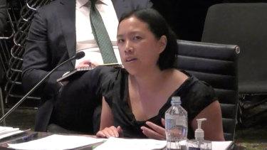 Gladys Berejiklian's seniorpolicy adviser Sarah Lau gave evidence at ICAC.