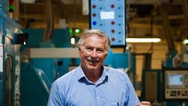 Royal Australian Mint chief executive Ross Macdiarmid.