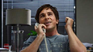 Christian Bale as hedge fund maestro Michael Burry in The Big Short.