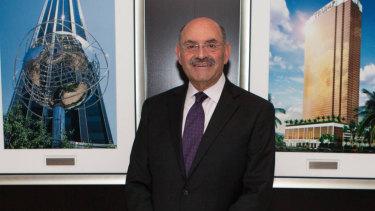 The Trump Organisation's chief financial officer, Allen Weisselberg.