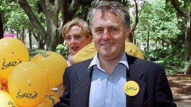 Malcolm Turnbull headed the 1999 Australian Republican Movement campaign.