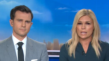 Sonia Kruger and David Campbell on Nine.