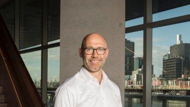 MYOB CEO Tim Reed.