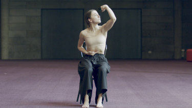 Australian Ballet principal artist Benedicte Bemet in Capriccio, an online film in Bodytorque.Digital.