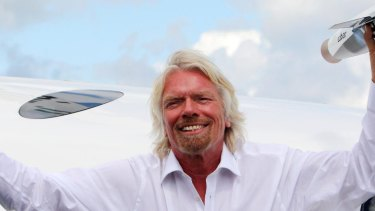 "Richard Branson plans to turn Virgin Galactic into the ""very first publicly listed human spaceflight company""."