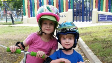 Nyobi and River Hinder died in a Mount Isa caravan blast rigged by their father.