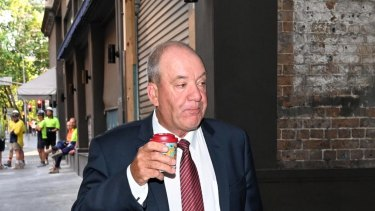 Daryl Maguire faced a corruption inquiry last week.