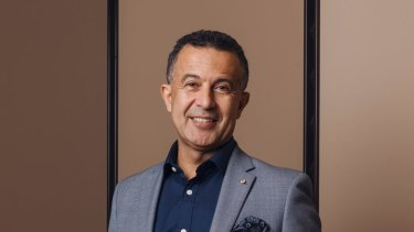 Former SBS boss Michael Ebeid said it was much more important to have diversity on screen than in back rooms.