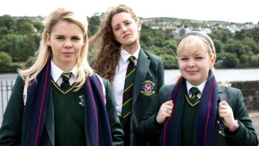 Sweet, sassy and very funny: catch Derry Girls on Netflix.