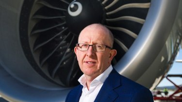 "Airport chief Stephen Byron said news of growth in international passenger numbers was ""fantastic""."