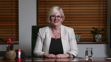 Karen Andrews, federal Minister for Industry, Science and Technology.
