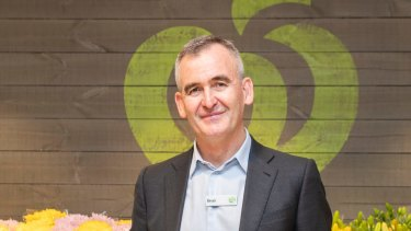 Going wholesome: Woolworths CEO Brad Banducci.