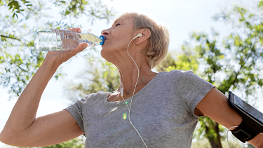 Staying hydrated and exercising has countless benefits.