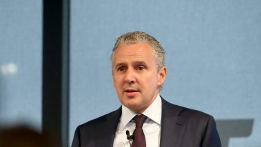 """""""We are on the cusp of potentially the next industrial revolution,"""" says Telstra's chief executive Andy Penn."""