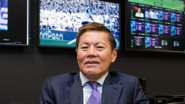 Optus chief executive Allen Lew.
