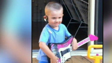 William's foster grandmother was initially suspicious of a neighbour, she told police.