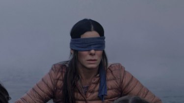 Sandra Bullock in Bird Box, a new Netflix show which would fall under the company's new self-classification system.