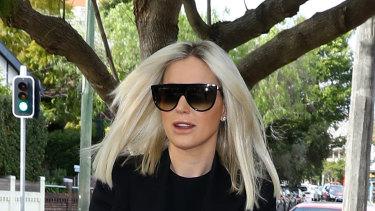 Roxy Jacenko arriving at Waverley court in August.