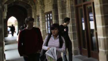 Melbourne universities have the highest proportion of international students in Australia.