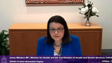 Jenny Mikakos quit two days after giving evidence to the hotel quarantine inquiry.