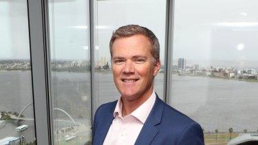 Wesfarmers' managing director of industrial David Baxby.