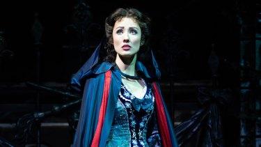 Australian Claire Lyon in Phantom of the Opera.