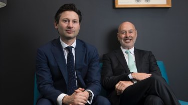 "Netwealth joint managing directors Matt and Michael Heine are ""very confident"" in the company's growth opportunities."