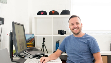 A passion for graphic design saw Todd enrol in a BA (Internet Communications) with Curtin University.