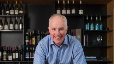 Treasury Wine Estates chief executive Michael Clarke.