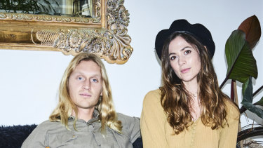 Emica Penklis (right) and husband Jesse Lawrence of Loco Love.