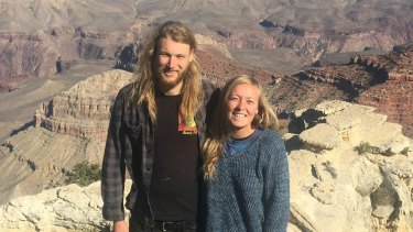 Lucas Fowler, 23, and his American partner Chynna Deese were found dead near the Alaska Highway last Monday.