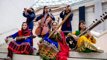 The Zohra Orchestra on their tour of the UK.