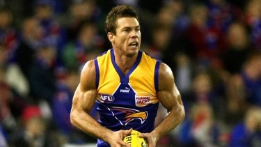 Ben Cousins during his playing days for West Coast.