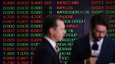 The Australian sharemarket is set for a flat start to the day.