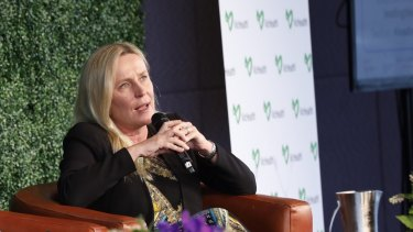 Professor Iris Bohnet, at VicHealth's equality symposium, says it is a hopeful sign for workplace gender equality that more young men are interested in flexible work arrangements.