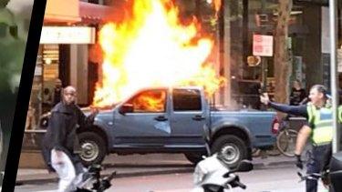 The Bourke Street terror attack.