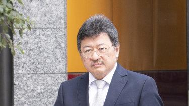 TPG boss David Teoh.