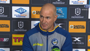 Brad Arthur has changed his approach to semi-final football.