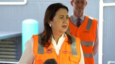"""If you have an allegation, put it to me,"" Premier Annastacia Palaszczuk told reporters."