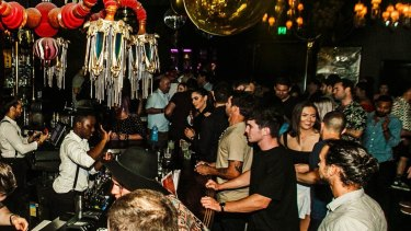 Laruche nightclub in Brisbane's Fortitude Valley will allow 100 people through the door at the weekend.