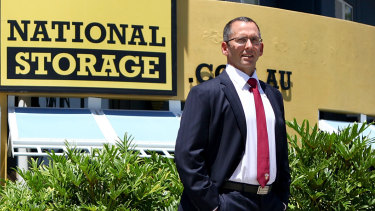 National Storage Australia managing director Andrew Catsoulis.