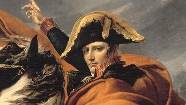 """This fantasy of the general riding to the rescue"": Napoleon Bonaparte."
