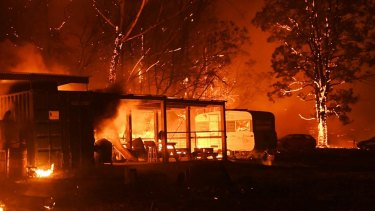 The study found 82 per cent of Australians fear climate change will result in more bushfires.