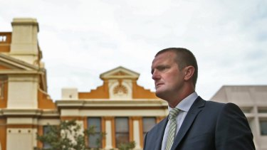 Labor spokesman for Finance, Services and Property Clayton Barr.