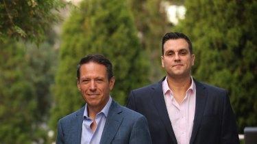 Mosaic chairman Richard Facioni and CEO Scott Evans.
