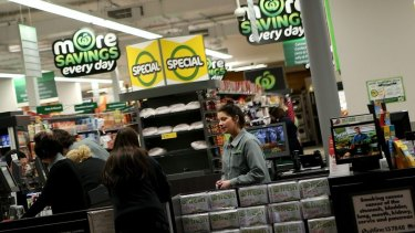 Woolworths has made guarantees to full-time staff.