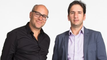 Catch Group founder Gabby Leibovich, left, and CEO Nati Harpaz.